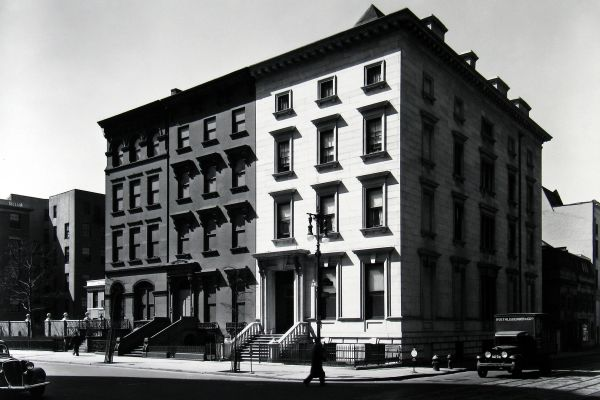 Fifth Avenue Houses, Nos. 4, 6, 8, 1936, © Berenice Abbott/Commerce Graphics/Getty Images. Courtesy of Howard Greenberg Gallery, New York