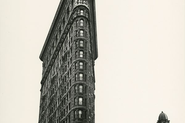 Flatiron Building, Madison Square, New York, 1938, © Berenice Abbott/Commerce Graphics/Getty Images. Courtesy of Howard Greenberg Gallery, New York